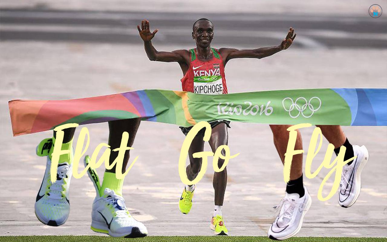 Nike Streakfly นักวิ่งเคนย่า KIPCHOGE